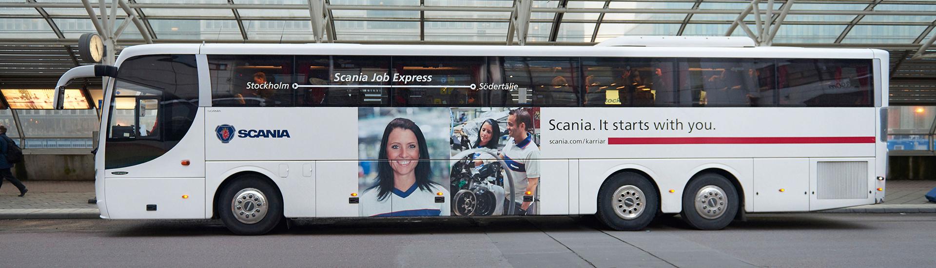 Åk guidad busstur med Scania!